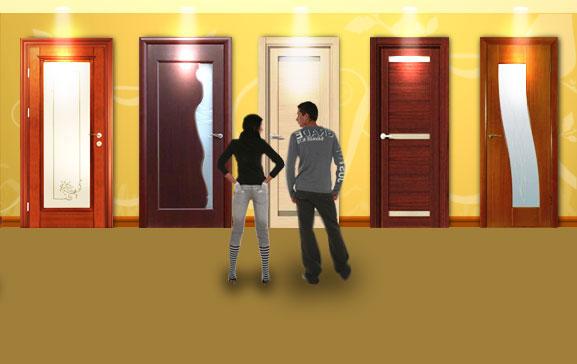 из чего сделаны двери
